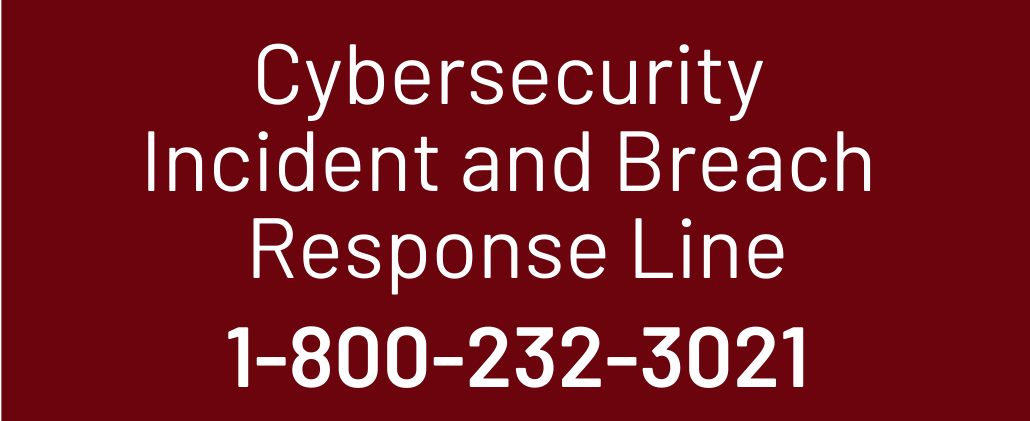 Cybersecurity Incident Line